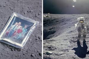 Άφησε την... οικογένειά του στο φεγγάρι