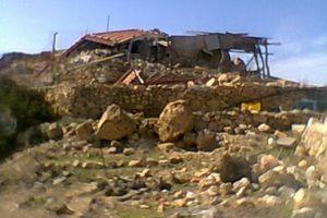 Φωτογραφίες από το ξωκλήσι που καταστράφηκε στην Κρήτη