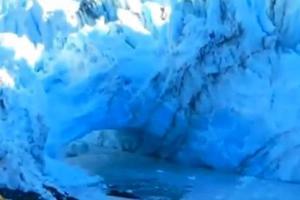 Αποκόλληση παγετώνα στην Αργεντινή