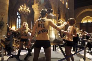 Αναβλήθηκε για τις 12 Ιουνίου η δίκη των Femen