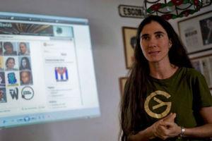 Η αντικαθεστωτική μπλόγκερ Γιοάνι Σάντσες επέστρεψε στην Κούβα