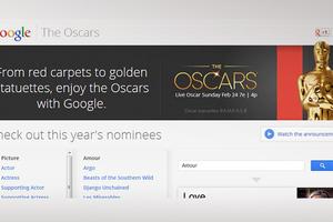 Η Google μπαίνει στο ρυθμό των Όσκαρ