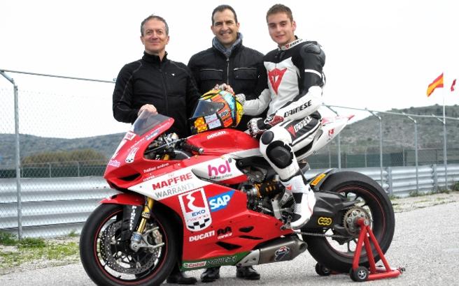 Ταλέντο 18 ετών θα οδηγήσει την εργοστασιακή Ducati