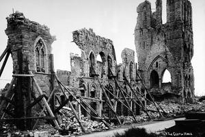 Εικόνες από τις καταστροφές του Α΄ Παγκοσμίου Πολέμου