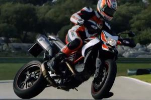 Η νέα Ducati Hypermotard στην πίστα