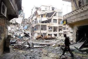 Σφοδρές μάχες γύρω από Τέμενος στο Χαλέπι