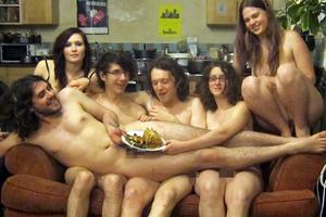 Οι γυμνοί, χορτοφάγοι σεφ