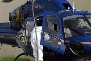 Λεφτά και αυτοσχέδιες βόμβες βρέθηκαν στο ελικόπτερο