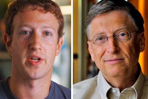 Mark Zuckerberg και Bill Gates δίνουν το «σύνθημα»