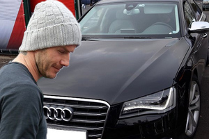 Ένα αυτοκίνητο αξίας 80.000 δολαρίων για τον Beckham