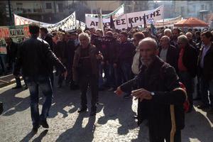 Παναγροτικό συλλαλητήριο στο Σύνταγμα