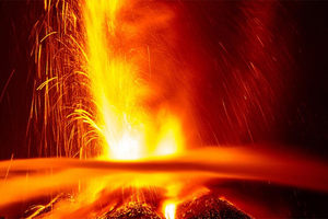 Εντυπωσιακές εικόνες από την έκρηξη της Αίτνας