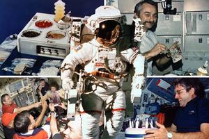 Τι τρώνε οι αστροναύτες...
