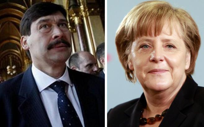Τα «έψαλε» στον Ούγγρο πρόεδρο η Μέρκελ