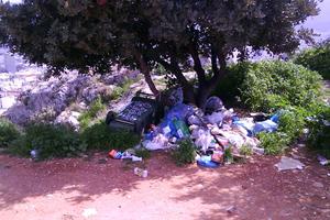 Συλλαλητήριο για τα σκουπίδια στην Τρίπολη