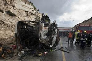 Οδική τραγωδία στην Ιορδανία