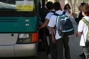 Κανονικά αύριο η μεταφορά μαθητών στη Θεσσαλονίκη