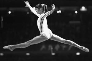 Η κορυφαία αθλήτρια Νάντια Κομανέτσι