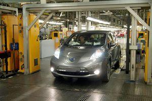 Ξεκίνησε η παραγωγή του ηλεκτρικού Leaf στην Ευρώπη