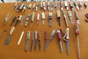 Οπλοστάσιο στα κελιά των φυλακών Κορυδαλλού