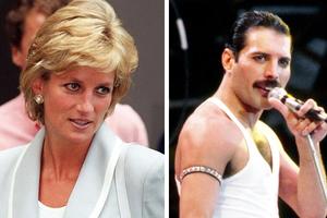 O Φρέντι Μέρκιουρι είχε πάει με την πριγκίπισσα Νταϊάνα σε gay bar