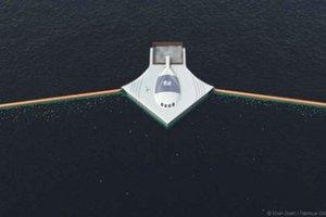 Φράγματα στους ωκεανούς θα σπρώχνουν τα απορρίμματα σε εξέδρες επεξεργασίας