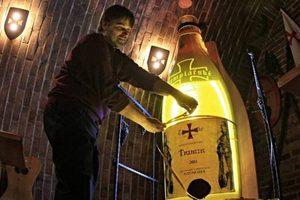 Το μεγαλύτερο μπουκάλι κρασιού στον κόσμο