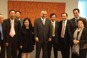Βουλευτές της Ταϊλάνδης στα γραφεία της ΝΔ