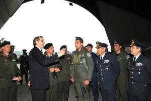 Συνάντηση Σαμαρά με πιλότους της Πολεμικής Αεροπορίας