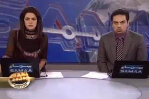 Η στιγμή του σεισμού καταγράφεται σε τηλεοπτικό στούντιο