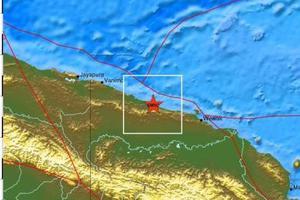 Ισχυρός σεισμός 6,8 Ρίχτερ στην Παπούα-Νέα Γουινέα