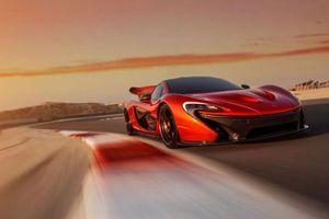 Η McLaren P1 «ποζάρει» στο Μπαχρέιν