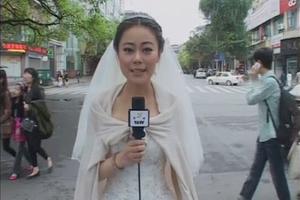 Άφησε το γάμο για να πάει για... ρεπορτάζ!