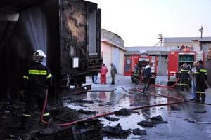Υπέστη εγκαύματα προσπαθώντας να σβήσει φωτιά στο ρεζερβουάρ