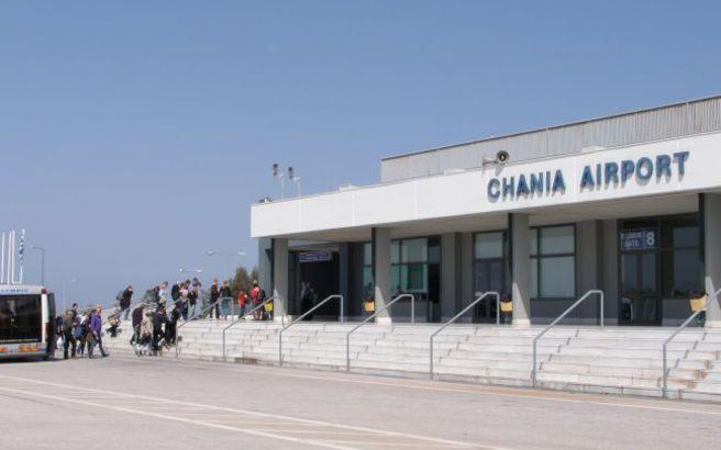 Αυξημένη η κίνηση στο αεροδρόμιο Χανίων το οκτάμηνο
