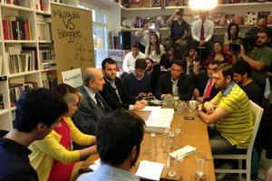 Με νεαρούς bloggers συνομίλησε ο Κ. Μητσοτάκης