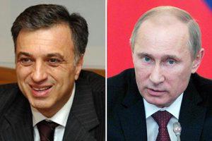 Συγχαρητήρια Πούτιν για την επανεκλογή Βουγιάνοβιτς