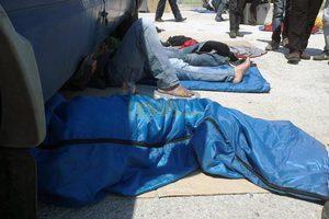 Απεργία πείνας από 14 Αφγανούς στη Λέσβο