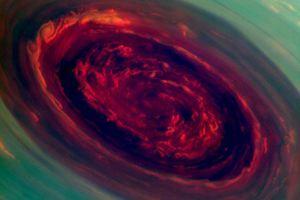 Τεράστια καταιγίδα μαίνεται στο βόρειο πόλο του Κρόνου