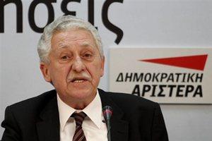 Ο Κουβέλης πρότεινε αποχώρηση των υπουργών