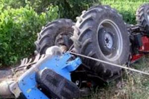 Αγρότης καταπλακώθηκε από τρακτέρ στο Γύθειο