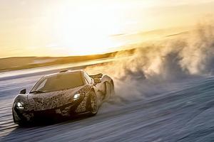 Η McLaren P1 δοκιμάζεται στον Αρκτικό Κύκλο