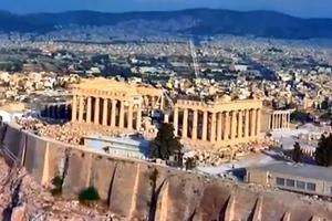 «Πράσινο φως» για την αποκατάσταση του νότιου Τείχους της Ακρόπολης