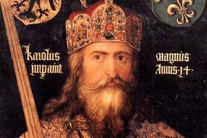 Ο μεσαιωνικός ηγεμόνας Καρλομάγνος