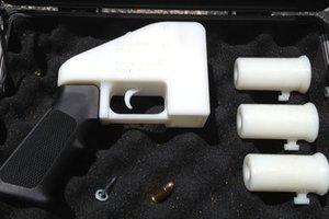 Κατασκεύασαν όπλο με τρισδιάστατο εκτυπωτή
