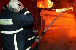 Κάηκε υπαίθριο μπαρ στο Ρέθυμνο