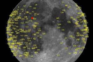 Μετεωρίτης προσέκρουσε στην επιφάνεια της Σελήνης