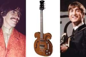 Στο σφυρί μια ηλεκτρική κιθάρα των Μπιτλς