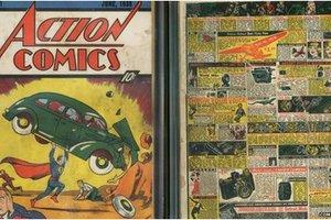 Αντίγραφο του πρώτου κόμικ του Σούπερμαν βρέθηκε μέσα σε τοίχο
