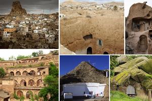 Ονειρικές κατοικίες σκαλισμένες σε βράχους
